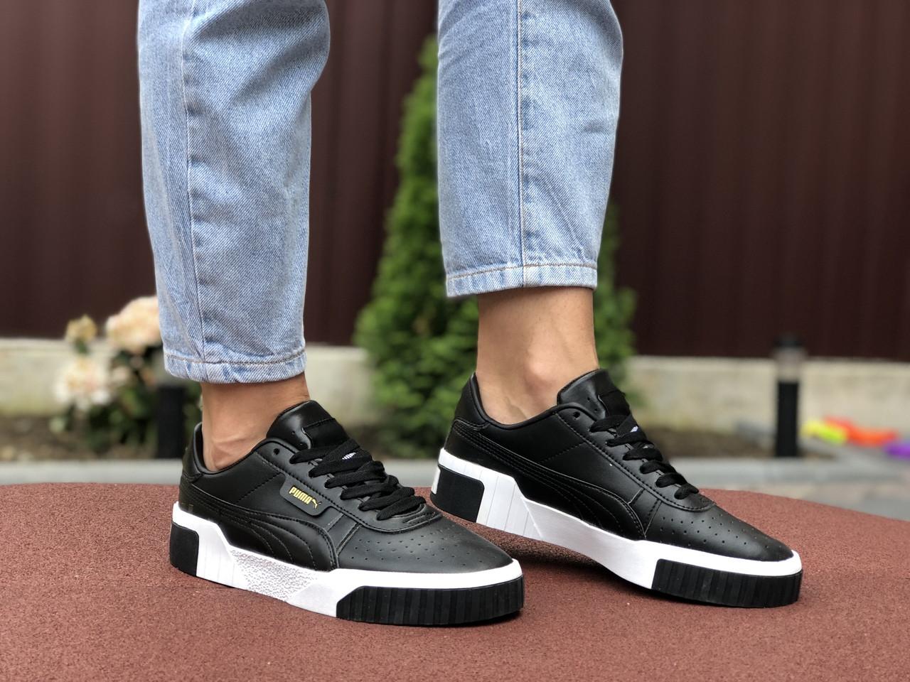 Жіночі кросівки Puma Cali (чорні) 9527