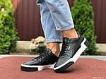 Женские кроссовки Puma Cali (черные) 9527, фото 4