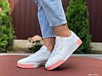 Жіночі кросівки Puma Cali (біло-рожеві) 9528, фото 4