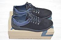 Туфли мужские Affinity 1815-21 чёрные нубук на шнурках, фото 1