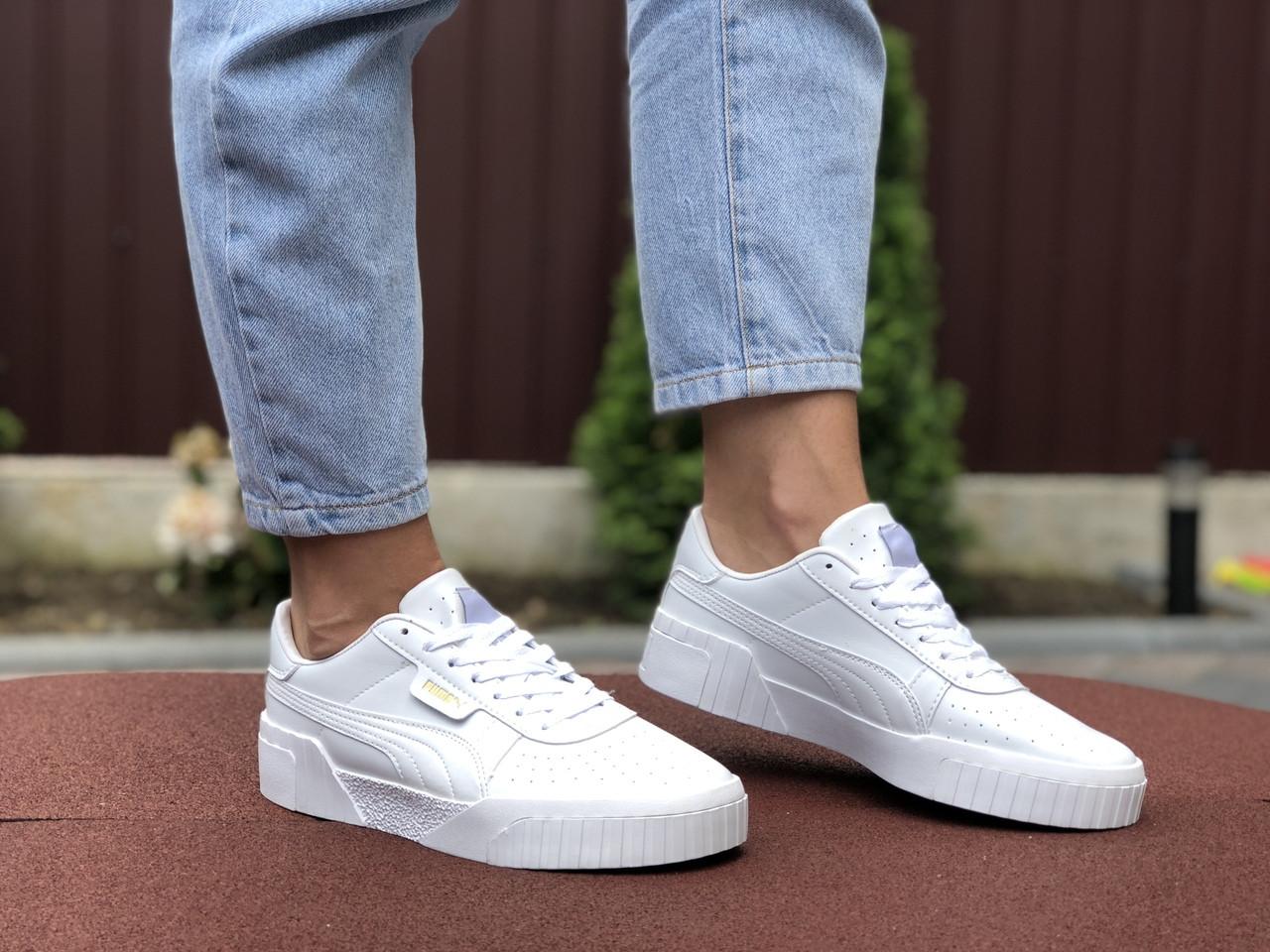 Жіночі кросівки Puma Cali (білі) 9529