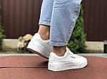 Женские кроссовки Puma Cali (белые) 9529, фото 4