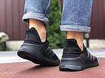 Чоловічі кросівки Adidas Climacool (чорно-сірі) 9530, фото 4