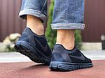 Мужские кроссовки Nike Free Run 3.0 (темно-синие) 9532, фото 2