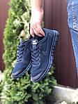 Мужские кроссовки Nike Free Run 3.0 (темно-синие) 9532, фото 4