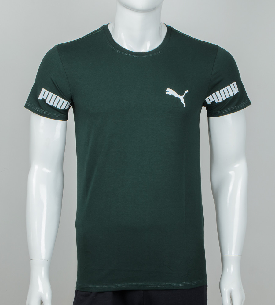 Футболка мужская PUMA (2025м), Т.Зеленый