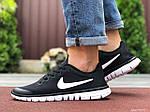 Мужские кроссовки Nike Free Run 3.0 (черно-белые) 9534, фото 4
