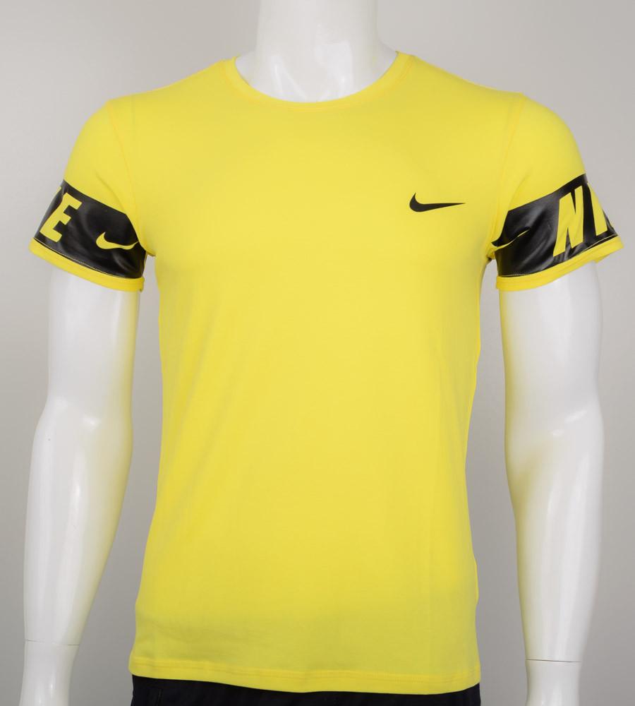 Футболка мужская NIKE (2026м), Жёлтый