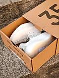 Женские кроссовки Adidas Yeezy Boost 350 в стиле адидас изи буст белые (Реплика ААА+), фото 2