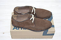 Туфли мужские Affinity 1842-261 коричневые нубук на шнурках, фото 1