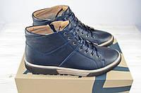 Ботинки мужские зимние Affinity 2599-12 синие кожа, фото 1