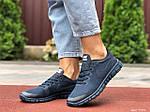 Жіночі кросівки Nike Free Run 3.0 (темно-сині) 9544, фото 3