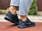 Жіночі кросівки Nike Free Run 3.0 (темно-сині) 9544, фото 4