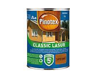 Лазурь-лак антисептический PINOTEX CLASSIC LASUR для древесины матовый орегон 1л