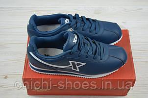 Кроссовки мужские X-TEP 322161 синие ПВХ