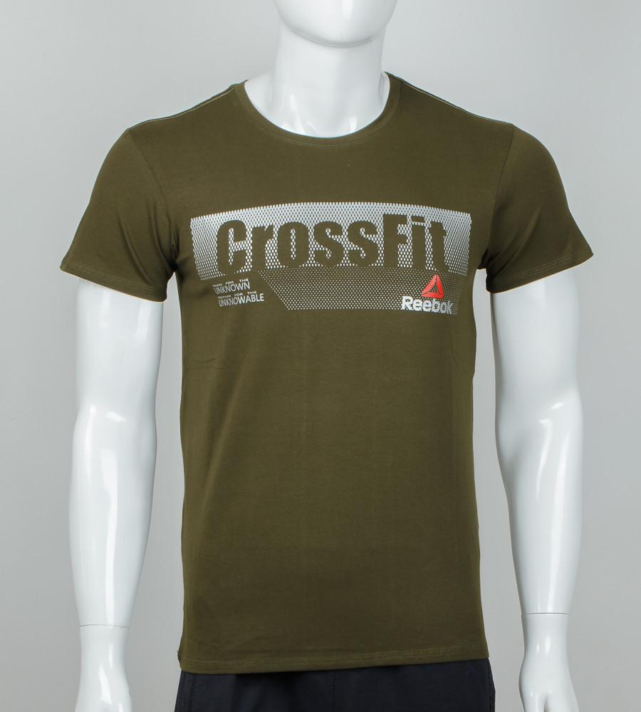 Футболка мужская Crossfit (2039м), Хаки