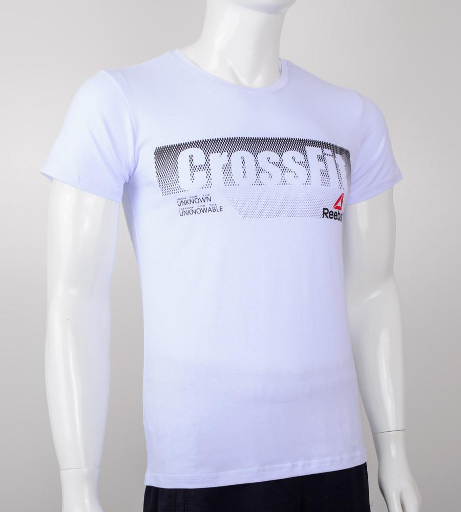 Футболка мужская Crossfit (2039м), Белый