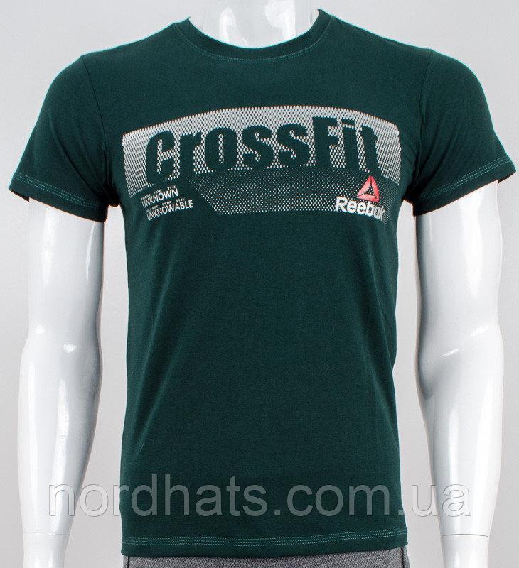 Футболка чоловіча Crossfit (2039м), Т. Зелений