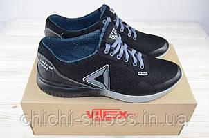 Кроссовки мужские Vitex 11802 чёрные текстиль