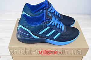 Кроссовки мужские Vitex 11914 синие текстиль