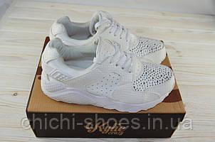 Кроссовки женские Kylie 1730302 белые текстиль (последний 36 размер)