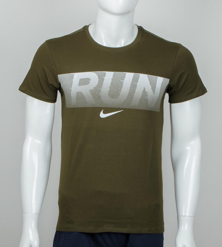 Футболка мужская Run (2042м), Хаки