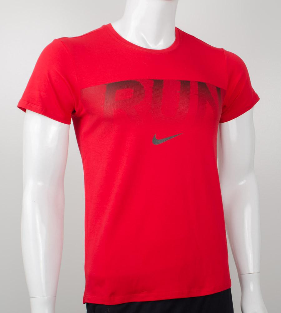Футболка мужская Run (2042м), Красный