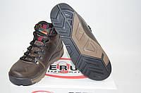 Ботинки мужские зимние Ferum М-32-1 коричневые кожа, фото 1