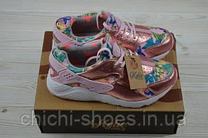 Кроссовки женские Kylie 1730301 розовые текстиль