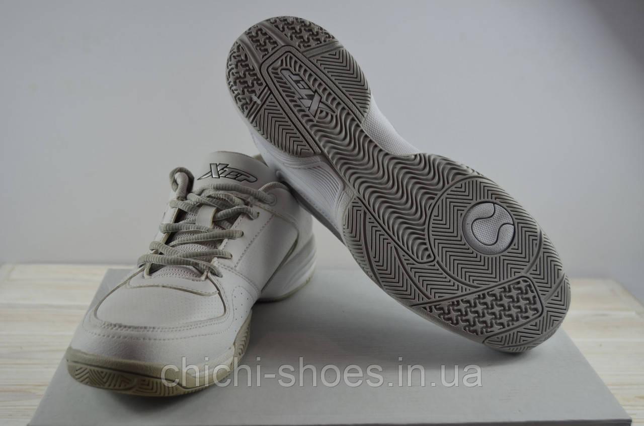Кроссовки мужские X-TEP130067 белые ПВХ