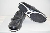 Кроссовки подростковые унисекс Restime 002А чёрные кожа (последний 37 размер), фото 1