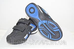 Кроссовки детские Bona 493Д-11 чёрные нубук (последний 32 размер)