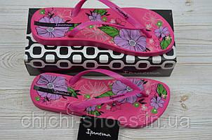 Вьетнамки женские Ipanema 21038 розовые резина