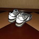 Женские замшевые кроссовки New Balance 574 Рефлективные (серые) 20027, фото 6