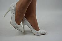 Туфли женские It Girl  2229-10-1028 белые кожа свадебные размеры 35,36, фото 1