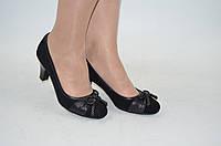 Туфли женские Beletta 297-095 чёрные кожа размеры 36,39, фото 1
