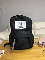 Рюкзак портфель женский черный (есть другие цвета)