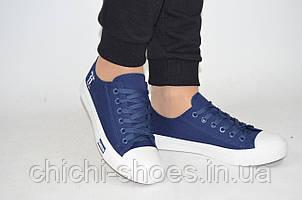 Кроссовки кеды подростковые Comfort baby 18-3 синие текстиль