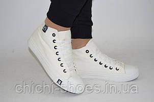 Кроссовки кеды подростковые Comfort baby 333-31 белые текстиль