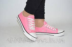 Кроссовки кеды подростковые Comfort baby 8067-3 розовые текстиль