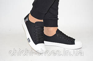 Кроссовки кеды подростковые Comfort baby 18-31 чёрные текстиль