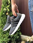 Чоловічі кросівки Adidas (сірі) 9563, фото 2