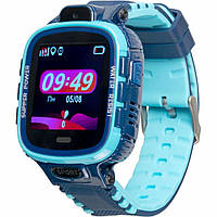 Смарт-часы Gelius Pro GP-PK001 (PRO KID) Blue Детские умные часы с GPS трекеро (Pro GP-PK001 (PRO KID) Blue), фото 1