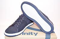 Туфли мужские Affinity 1914-323 синие нубук на шнурках размеры 40,45, фото 1