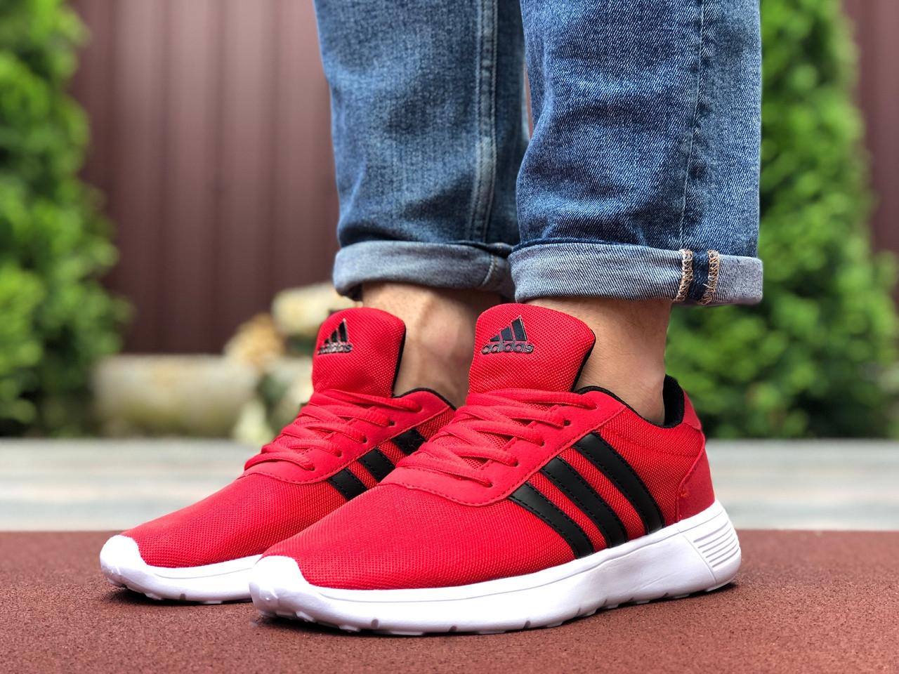 Мужские кроссовки Adidas (красные) 9568