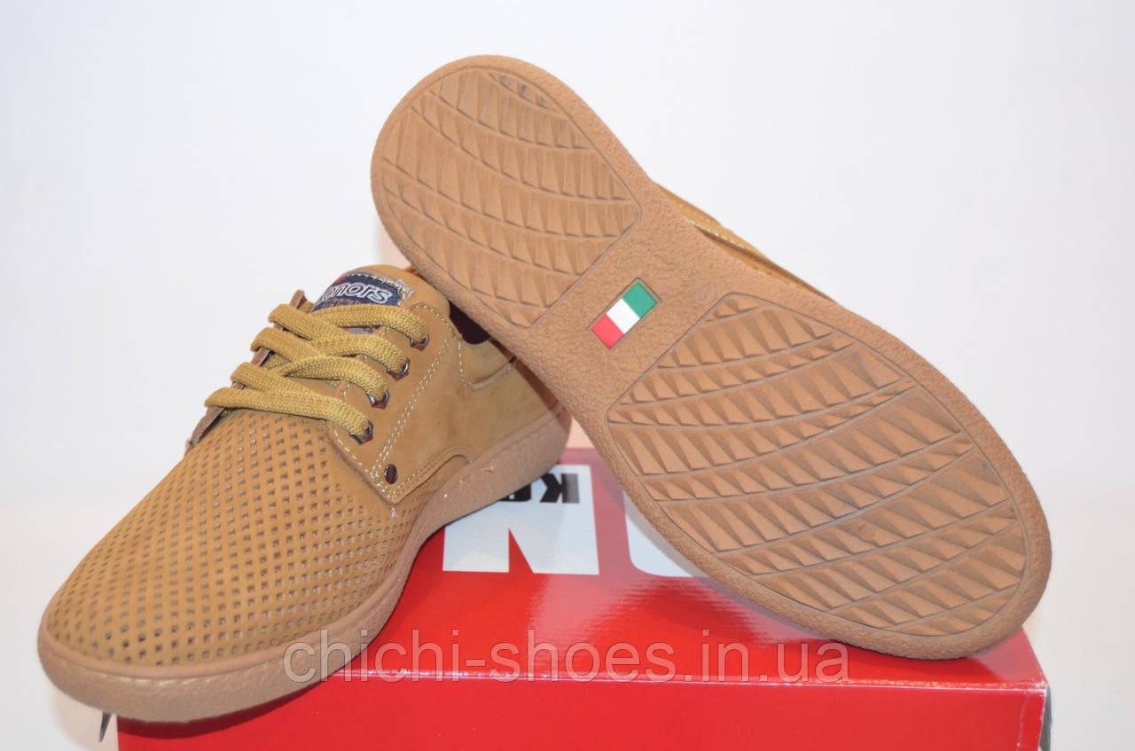 Туфли мужские Konors 8119-1-3-99 бежевые нубук