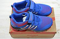 Кроссовки детские Bona118A-11 сине-красные текстиль, фото 1