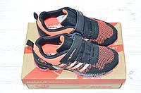 Кроссовки детские Bona 119A-11 чёрно-розовые текстиль, фото 1