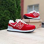 Жіночі кросівки New Balance 574 (червоні) 20141, фото 9