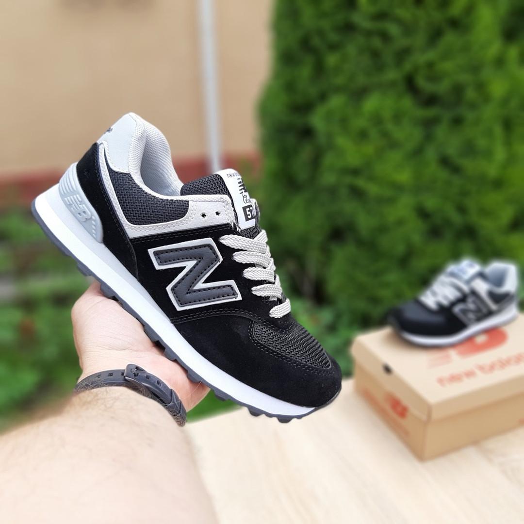 Жіночі кросівки New Balance 574 (чорні) 20143